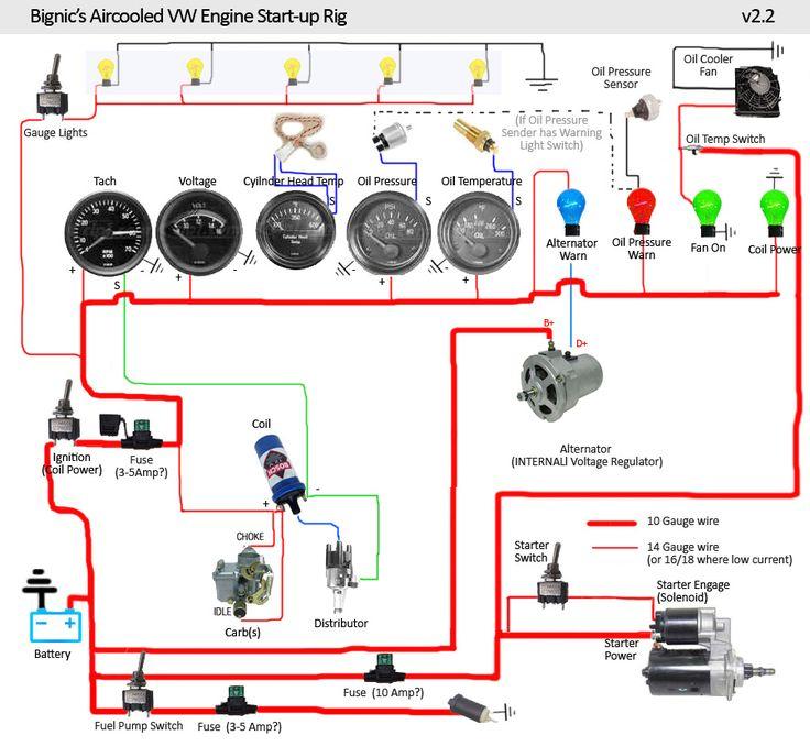 vw buggy wiring diagram motor