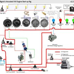 Basic Chevy Hot Rod Wiring Diagram Visio Vw Engine Test Stand - Google Search | My Super Beetle Restore Project Pinterest An, On ...