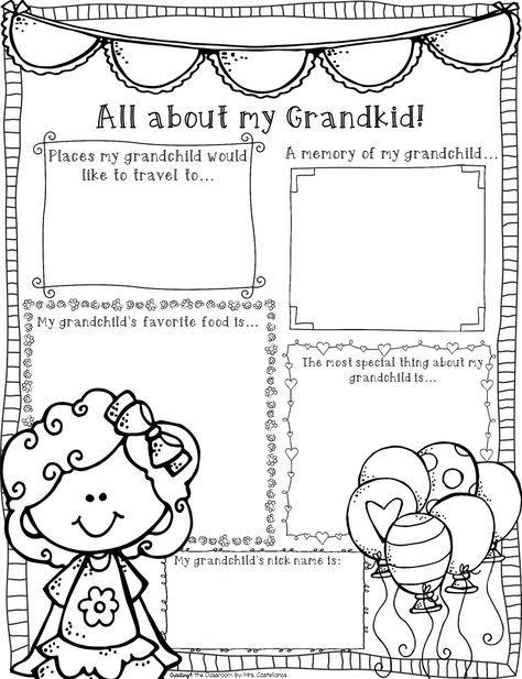 25+ best ideas about Grandparents day poem on Pinterest