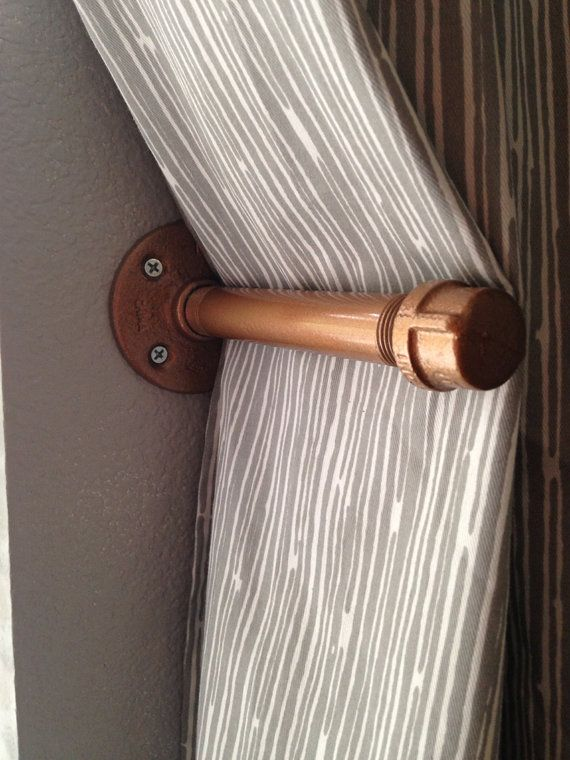 25 Best Ideas About Pipe Curtain Rods On Pinterest Industrial Bedroom Furniture Decorative