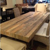 Reclaimed wood dining table | For the Home | Pinterest ...