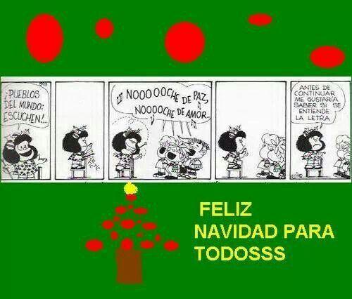 Feliz Navidad Mafalda Pinterest Navidad