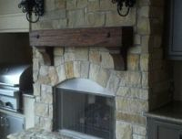 Fireplace Mantels, Rustic, Live Edge, Hand Hewn and more ...