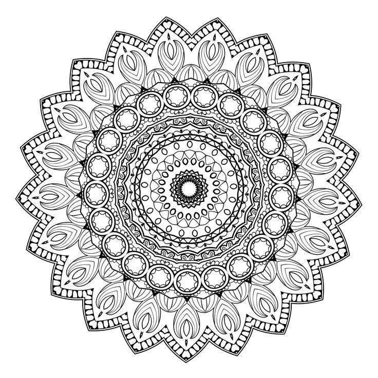 calm with these 20 free printable mandala templates including pages