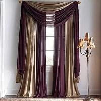 Window scarf, Window and Scarfs on Pinterest