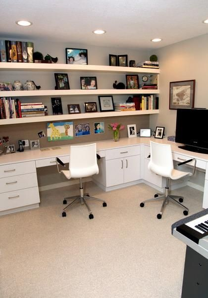 space saving home office idea 30 Corner Office Designs and Space Saving Furniture Placement Ideas | Home office design