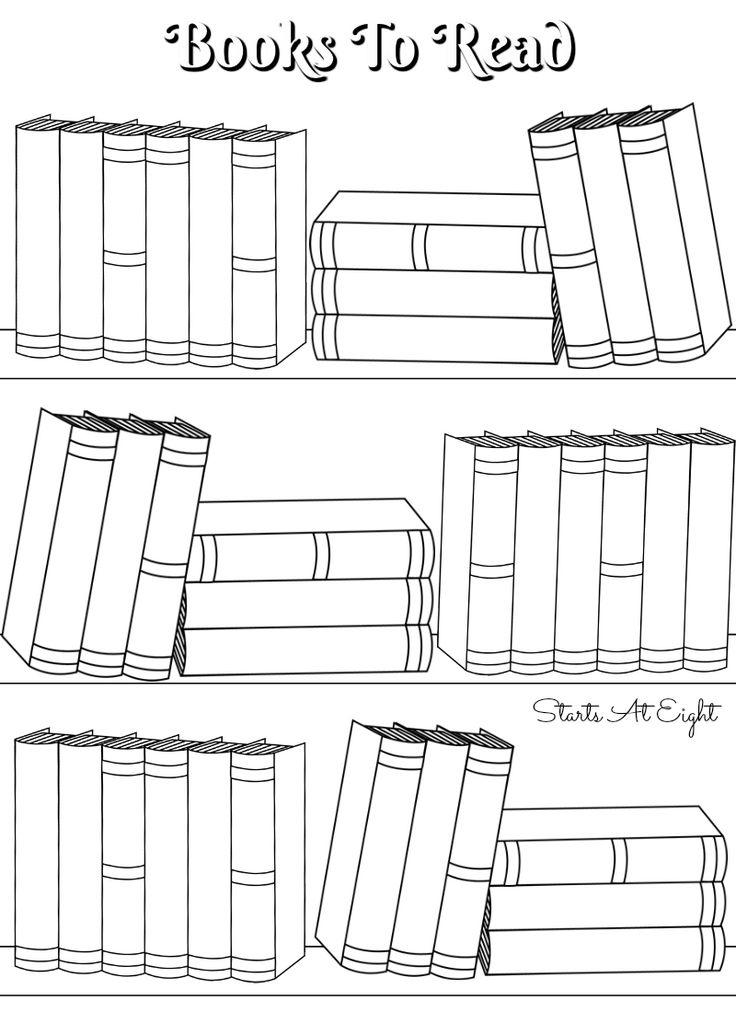 FREE Printable Books To Read (Bullet Journal) ) Log