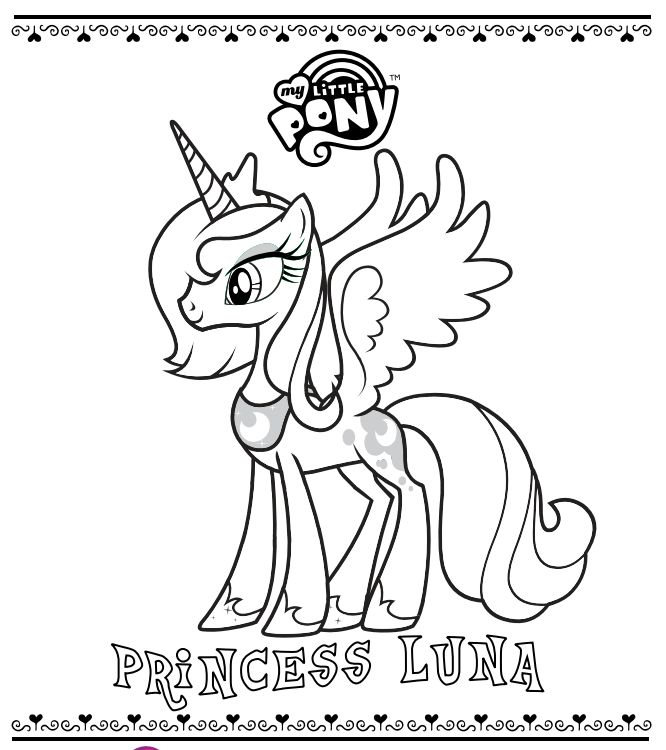 28 best images about mlp coloring pages on Pinterest