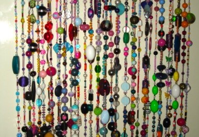 Closet Curtains Beads