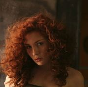 1000 ideas curly red hair