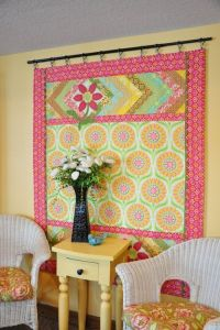 Wall Quilt Rack Designs - WoodWorking Projects & Plans