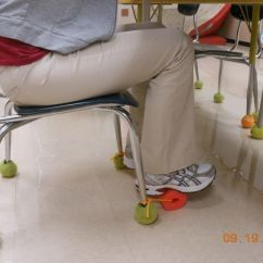Classroom Chair Covers With Pocket Clearance Office Chairs This Is A Pool Noodle Attached To The Desk Rope. It Can Be Used As Foot Rest Or For ...