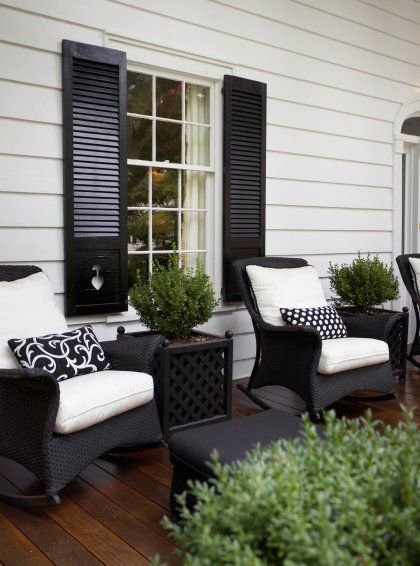painted adirondack chairs ergonomic chair or gaming 25+ best ideas about front porch on pinterest | seating, ...