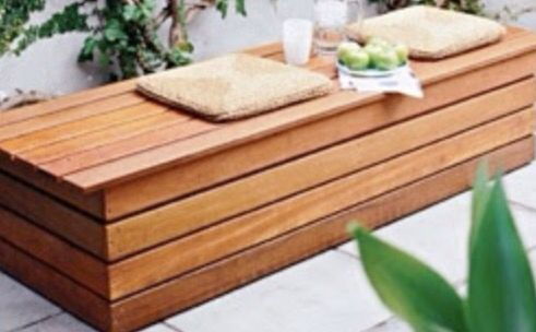 17 Best ideas about Wooden Bench Seat on Pinterest