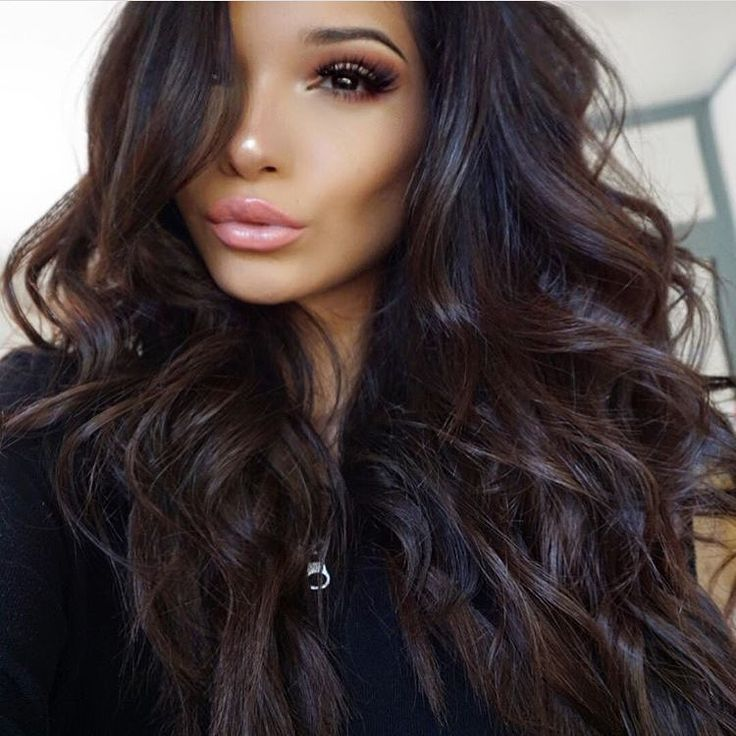 25 Best Ideas About Dark Hair On Pinterest Long Dark Hair Dark
