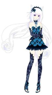 anime with white hair facebook