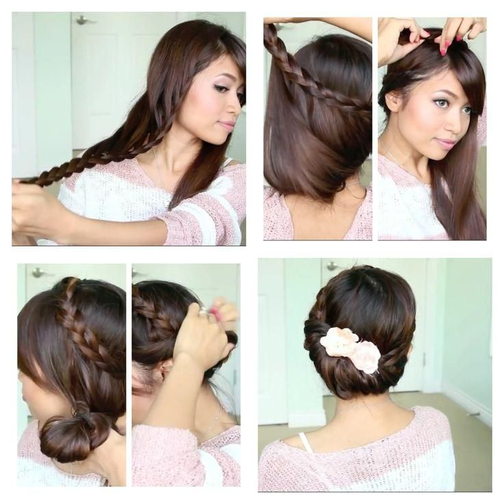 792 Best Images About Hair Tutorials On Pinterest Updo Messy