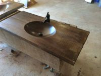 1000+ images about Faux Wood Finish Concrete Countertops ...