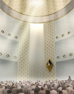 Al Ansar Mosque Design By FARM In Partnership With KD