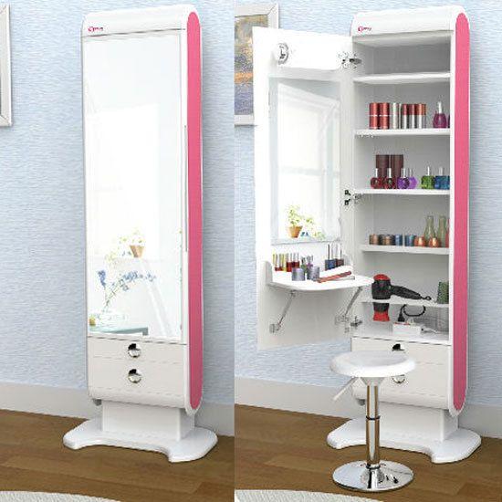 Details About Elegani Makeup Hair Organizer Table LED
