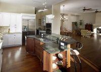 2 tiered kitchen island | Two tier island/bar | Kitchen ...