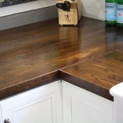 Premade Kitchen Islands Machine Washable Rugs Dark Stained Oak Butcher Block | Interiors // Smeltz Haus ...
