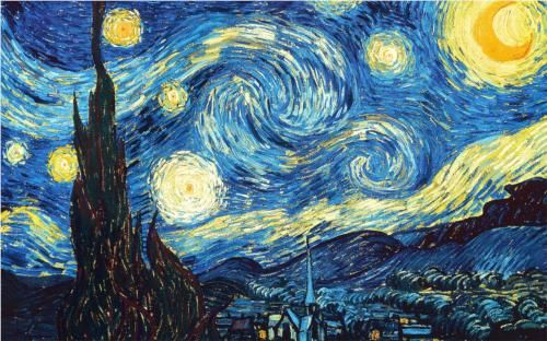 In honor of my wonderful niece, who loved this painting as a baby. Starry Night