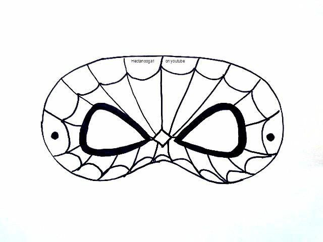 (8) Name: 'Paper Crafts : FREE PRINTABLE, SPIDERMAN MASK