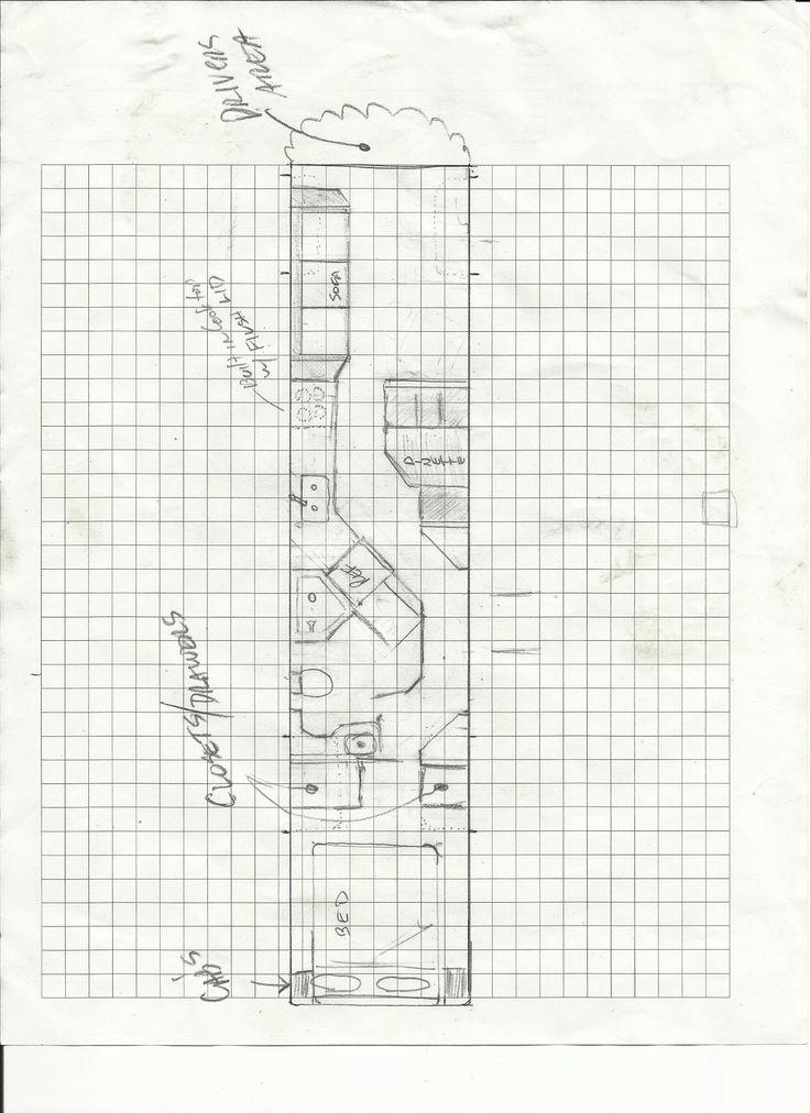 50 best images about Skoolie Floor Plans on Pinterest
