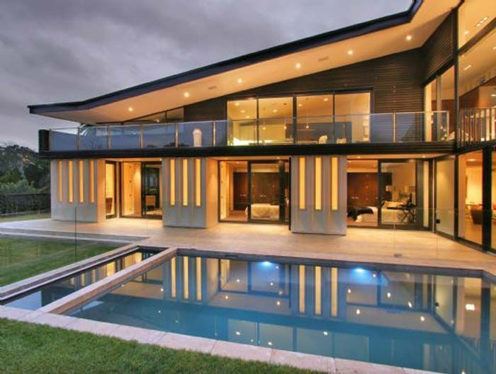 The Luxury Glass House Plans – New Home