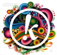 153 best images about Quilling Letters on Pinterest ...