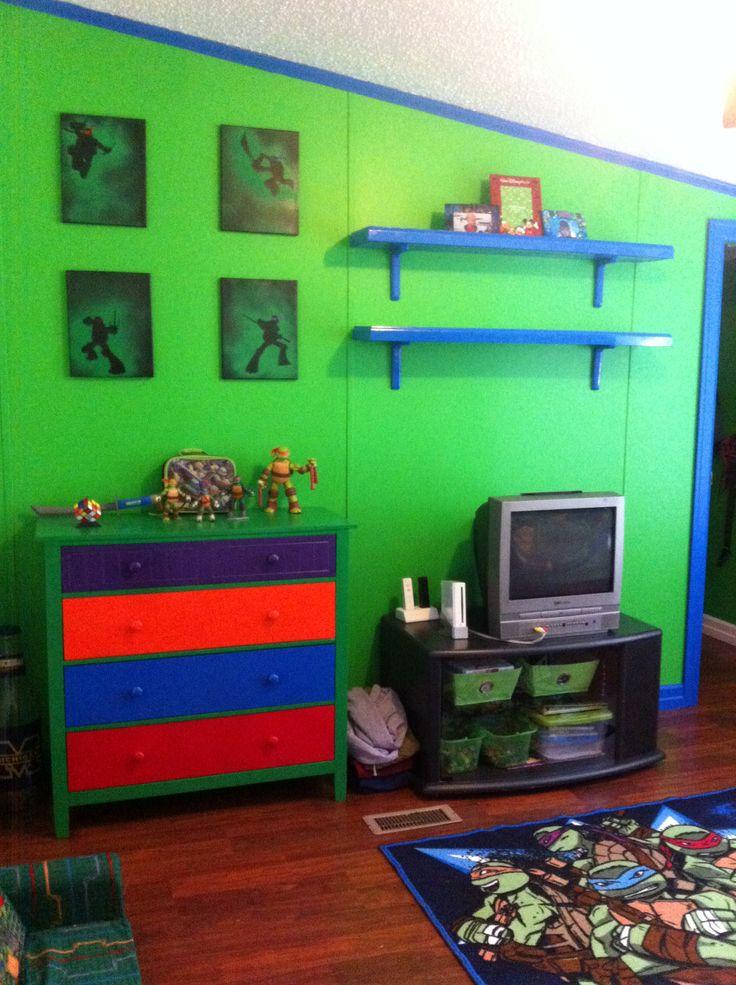 25 best ideas about Ninja turtle room on Pinterest  Ninja turtle room decor Boys ninja turtle