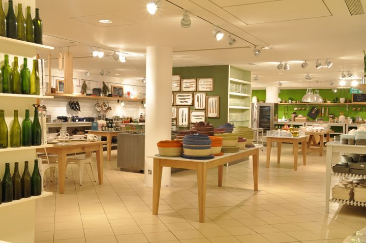 Conran Shop Flagship Store By Jamieson Smith Associates London