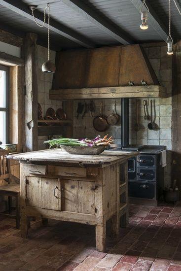 rustic farmhouse  interior design  decorating ideas
