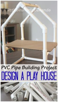 PVC Pipe House Building Project STEM Engineering Activity ...