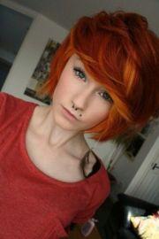 1000 ideas dark orange hair