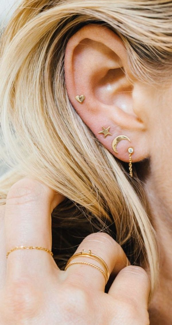 25 Best Upper Ear Piercing Ideas On Pinterest Ear