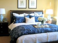 7 Ways To Arrange Bed Pillows | Lumbar pillow, Accent ...