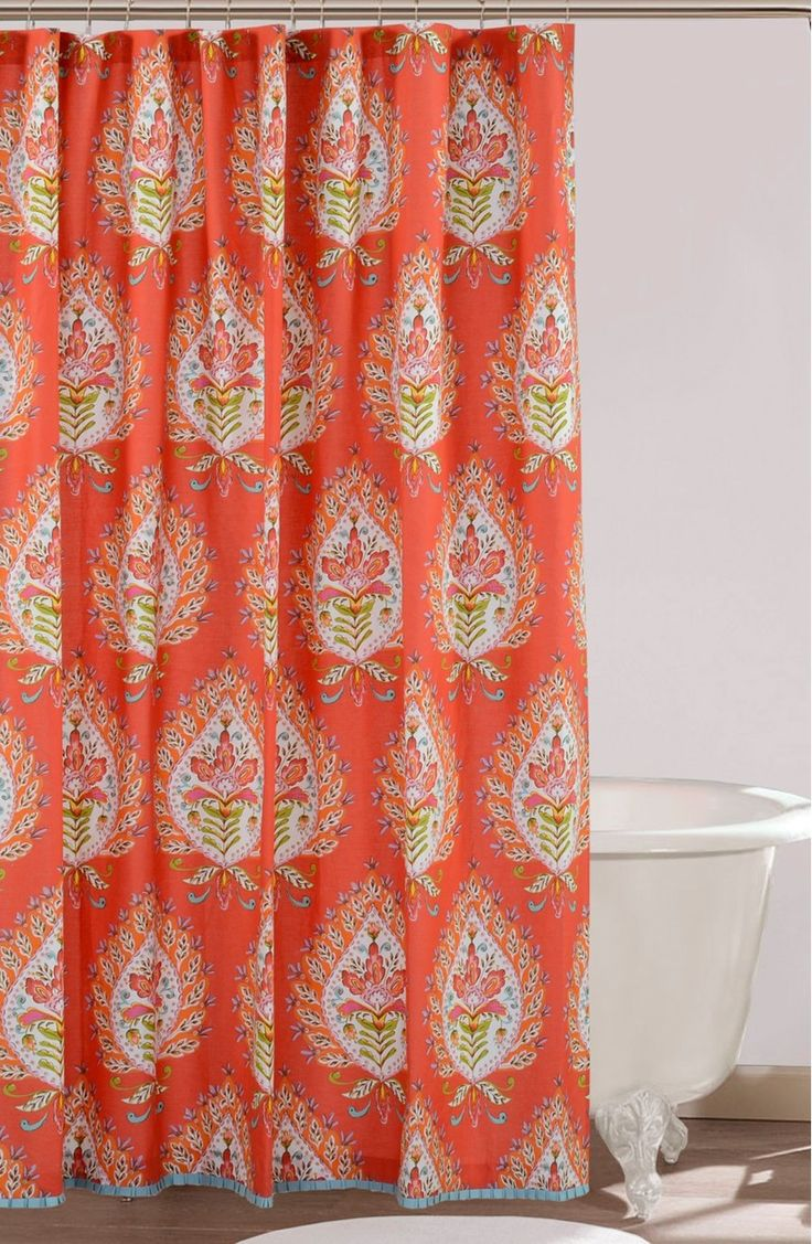 17 Best ideas about Colorful Shower Curtain on Pinterest
