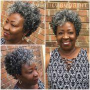 tapered cut crochet braids