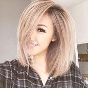 blunt hairstyles easy