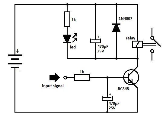 TransistorRelayDriverCircuit is using the NPN transistor