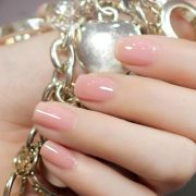 light pink nails art