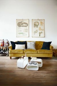 Top 25+ best Yellow couch ideas on Pinterest | Gold couch ...