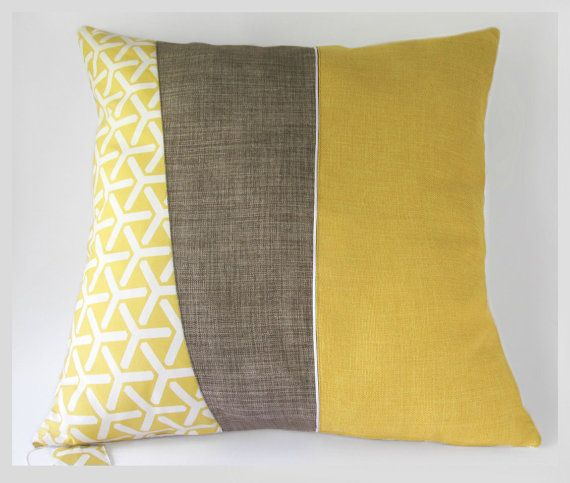 Midcentury modern style large throw pillow cushion cover