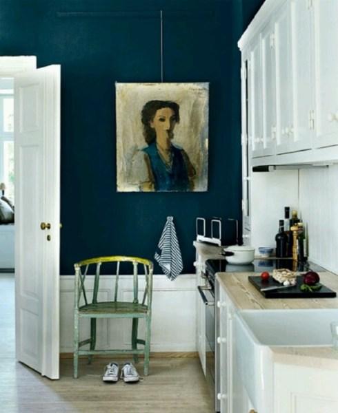 dark navy blue kitchen walls 17 Best images about Dark Teal & Navy Accent Walls on