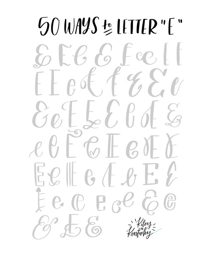 1000+ ideas about Hand Lettering Tutorial on Pinterest