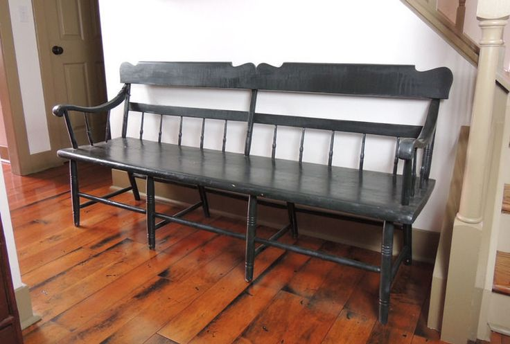 Antique Deacon Bench Woodworking Projects Amp Plans
