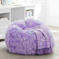 fuzzy purple bean bag chair | Purple | Pinterest | Bags ...