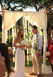 ideas wedding trellis